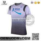 Custom Men's t-shirts Quick Dry Fitness Sports Running Compression Shirt basketball T-shirt Soccer Jerseys