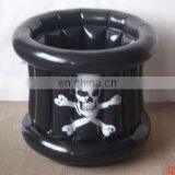 promotional inflatatable skull barrel