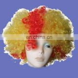 New party afro wig in customer colour
