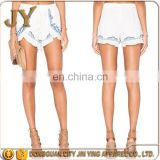 Embroidery High-Waisted Ladies Cotton Shorts Printed Shorts Hot Sexy Girls Short Pants Sexy Nude Women Photos Cheap Beach Shorts