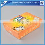 Cheap custom printing disposable paper lunch box