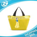 Manufacturer Custom Fancy Promotional Personalized lunch cooler bag with durable hard liner