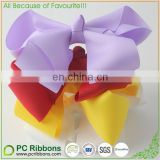 STOCK grosgrain ribbon hair bows ,baby hairbow,Boutique bow for Child hair accessories