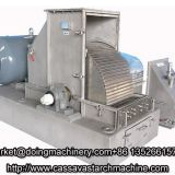 Cassava starch processing machine for cassava starch processing plant