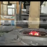 Full automatic copper zinc alloy low pressure casting machine pipe fittings metal sand casting production line
