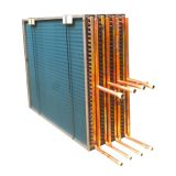 Copper Tube Hydrophilic Aluminum Fin Heat Exchanger