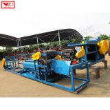 Sisal, jute, banana pole FIBER DEWATERING AND CLEANING MACHINE