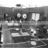 heavy-duty gym rubber flooring/used gymnastic mats