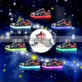 2016 coolest adult trainers with lights LED light up heels for adults led running shoes for children dancing