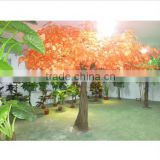 2014 the cheap artificial outdoor large tree fabric leaf fiberglass material artificial tree/artificial maple tree