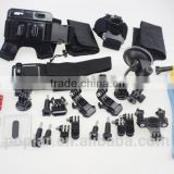 used for gopros accessories set gopros hero4 accessories gopros hero3 go pro camera accessories Combo Kit 16