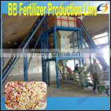 High efficiency high quality npk fertilizer machine with one year warranty
