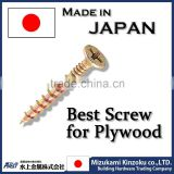 Steel and durable Plywdurable self tapping screw for composite panel at reasonood Screws with chromating various sizes available