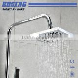 Hot Selling Rain Shower Head and Handheld Shower Included Thermostatic Bathroom Shower Set