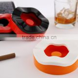 D439 Melamine Ashtray with Lid for Sale