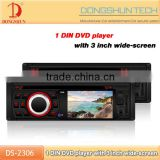 Newest 1 din radio DVD player with USB/SD,TV