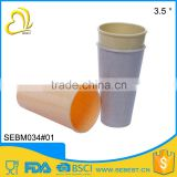top selling melamine plastic tumble bamboo drinking cup