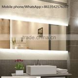 Hot Bathroom Design IP44 Accessories Restangle LED Modern Bath Mirrors                                                                         Quality Choice