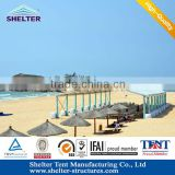 2014 Wholesale Used Clear Span Tent ,Beach Tent with Strong Temperature And Wind Resistant for Sale