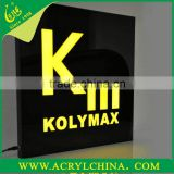 2014 lightting advertising box LED logo display stand