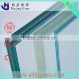 Customized size high quality factory supply laminated glass for solar panels/laminated glass price