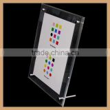 GH-P0030 professional manufacturer simple style plexiglass picture plastic photo frame photo frame