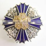 custom hard enamel metal diy lapel pin