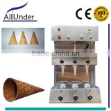 Commercial Ice Cream/Pizza Cone Making Machine
