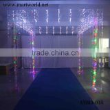 party and wedding decorations wholesale china manufacturer square acrylic mandap flash light wedding decoration material MBD-014                                                                                                         Supplier's Choice