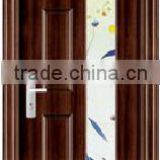 JOY brand lowest price steel wooden interior door internal door interior door with glass