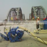 ROPW series portable sand blaster with dust collector,concrete road shot blasting machine