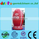 customized huge advertisement inflatable rugby ball