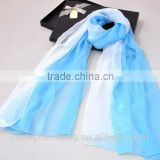 new product latest design good quality beautiful raw silk scarf