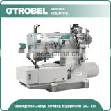 GDB-500-01CB/IT GTROBEL High speed flat bed interlock sewing machine for cover sewing