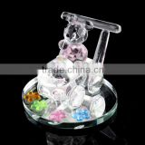 fancy crystal baby shower favors