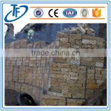 landscape design galvanized rock hexagonal retaining wall wire gabion netting for rock fall protection