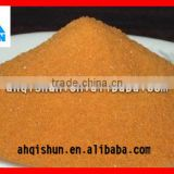 Manufacturer make best price 001*7 strong acid styrene cation ion exchange resin for water softner