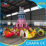 2016 changda Outdoor Playground Type and FRP,FRP & steel Material park amusement rides airplane