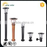 energy saving lamp outdoor stainless steel decorative solar garden bollard light                                                                         Quality Choice
