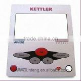 Nameplate with Membrane Switches Tactile Feel Metal Dome and Rubber Keypad with a big LED window