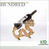 Eco-friendly hot selling high quality novelty bamboo wine bottle holder