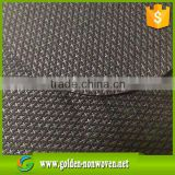 (pp cambrelle) Cross Non Woven 100% Polypropylene Fabric, pp nonwoven/non woven cambrelle fabric in roll for shoe interlining