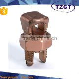 Bolted Connectors bronze Split Bolt clamps supplier