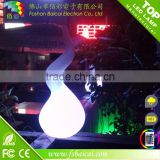 led wireless floor light/waterdrop shape cordless led floor lamp