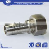 hydraulic metric barbed hose ferrule fittings | aluminum hose barb fittings with best quality