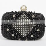 New styles for Women's clutches ladies luxury diamond party bag pearl evening bag