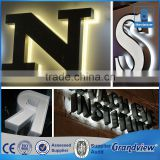 Outdoor Custom Design LED Backlit Letter Sign For Advertising Display