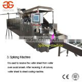 27 Moulds Electric Automatic Wafer Biscuit Making Machine Product Line/Automatic Wafer Production Line