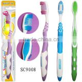 rubber bristled toothbrush