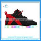 High top Kid LED sports shoes soft sole kid sneakers original design kid shoes for wholesale